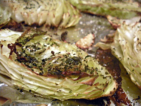 Roasted Cabbage - serifandspice.wordpress.com