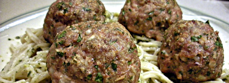 turkey meatballs - serifandspice.wordpress.com
